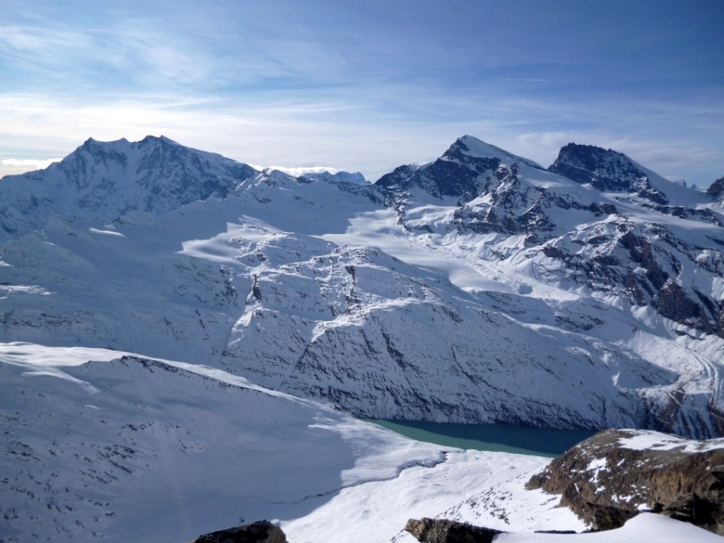 Mt Rose, Strahlhorn et Rimpfisch
