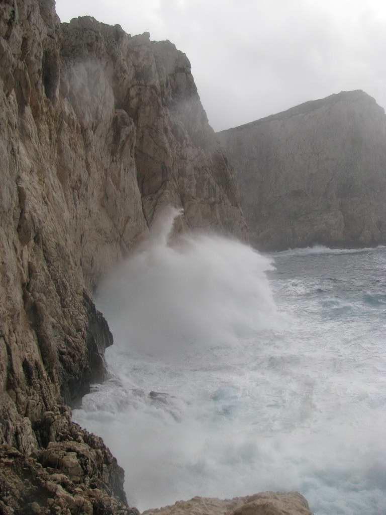 mer quelque peu agitée