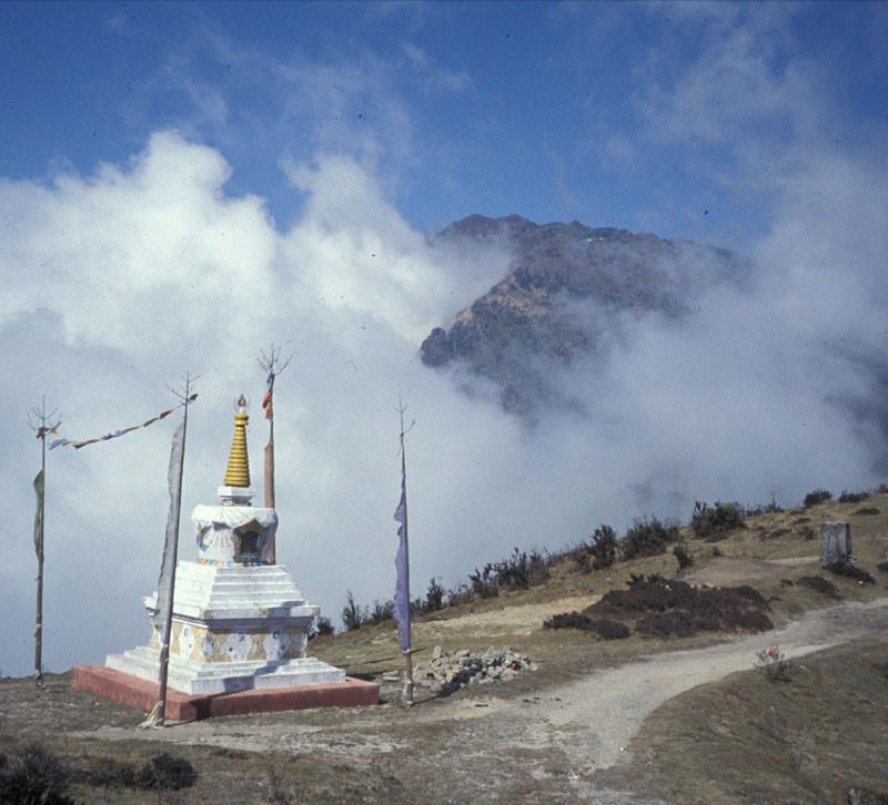 Stupa sur le Singalila trek