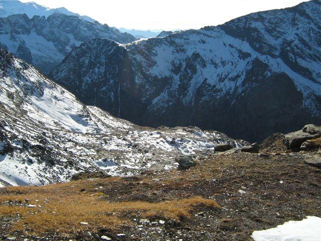 Déco du Col de Sassey vers le Sud