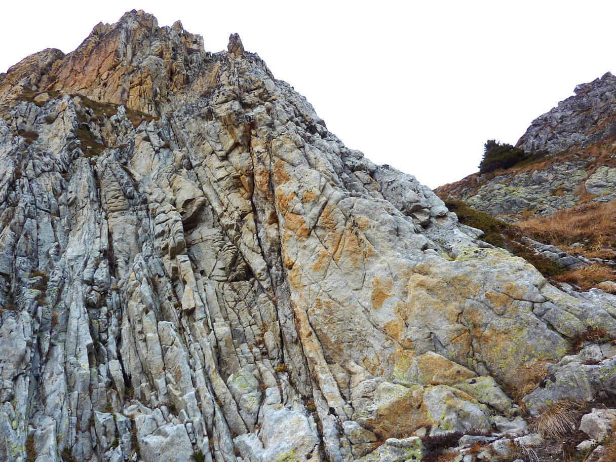 Voie des géologues : 3ème gendarme (L4)