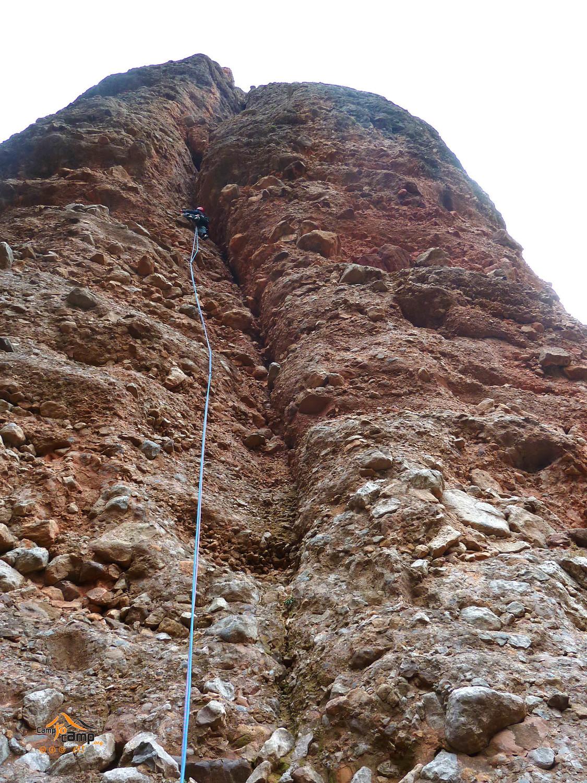 Mallos Aguja Roja - Edil - Fissure de L1/L2