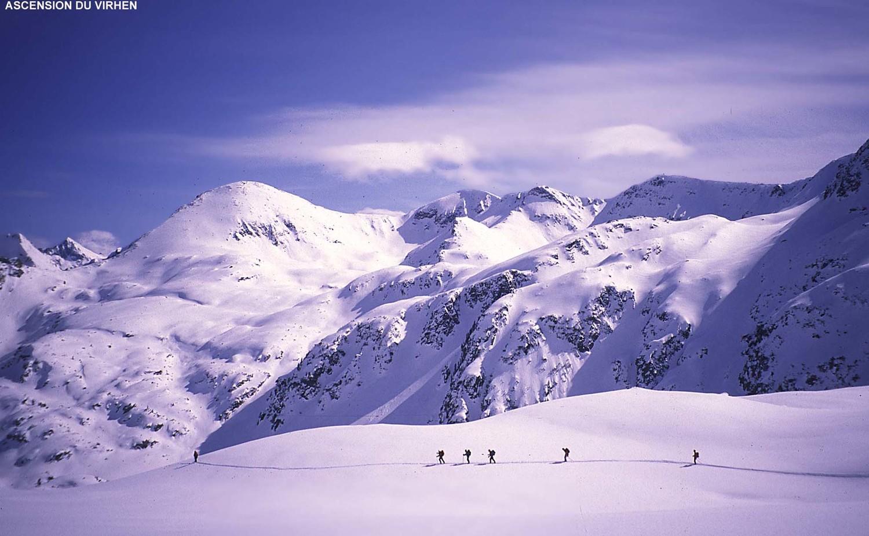 Montée au Virhen (2900m), massif du Pirin, Bulgarie