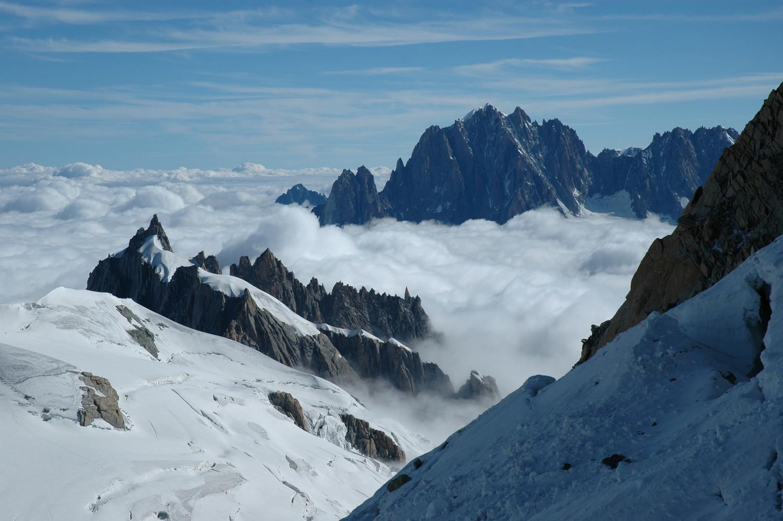 Aiguilles de Chamonix, Drus, Aiguille Verte