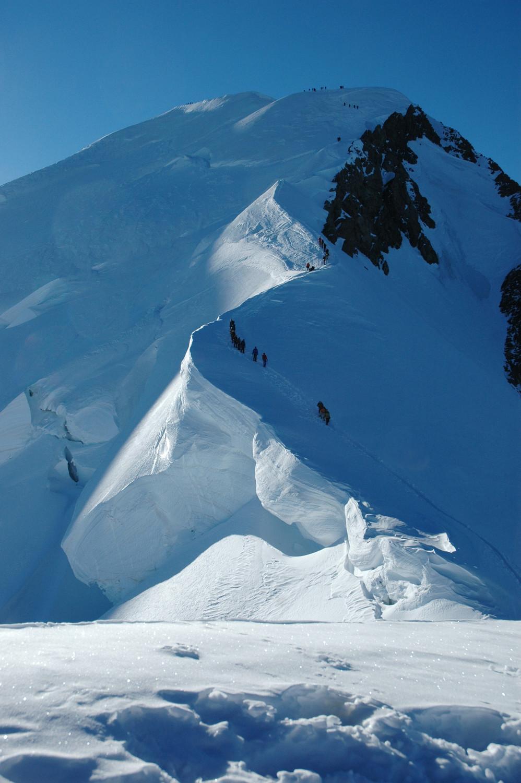 Mont Blanc: arrête des Bosses