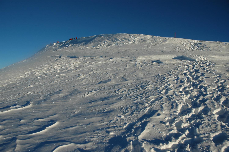 Sommet du Mont Blanc pris de l'E