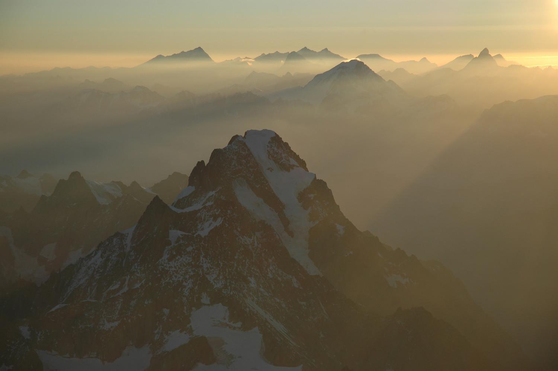 Grandes Jorasses, Alpes Pennines