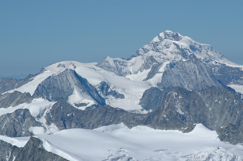 Grand Combin NE. Pigne d'Arolla, La Ruinette, Mont Blanc de Cheilon