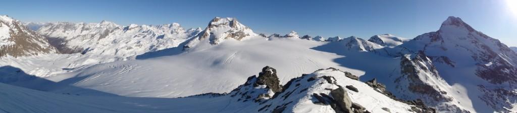 Panorama: Val de Rhêmes, Grand Paradis, La Tsanteleina