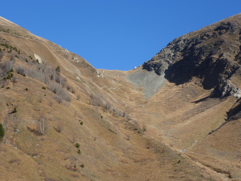 col du Tricot, versant Miage