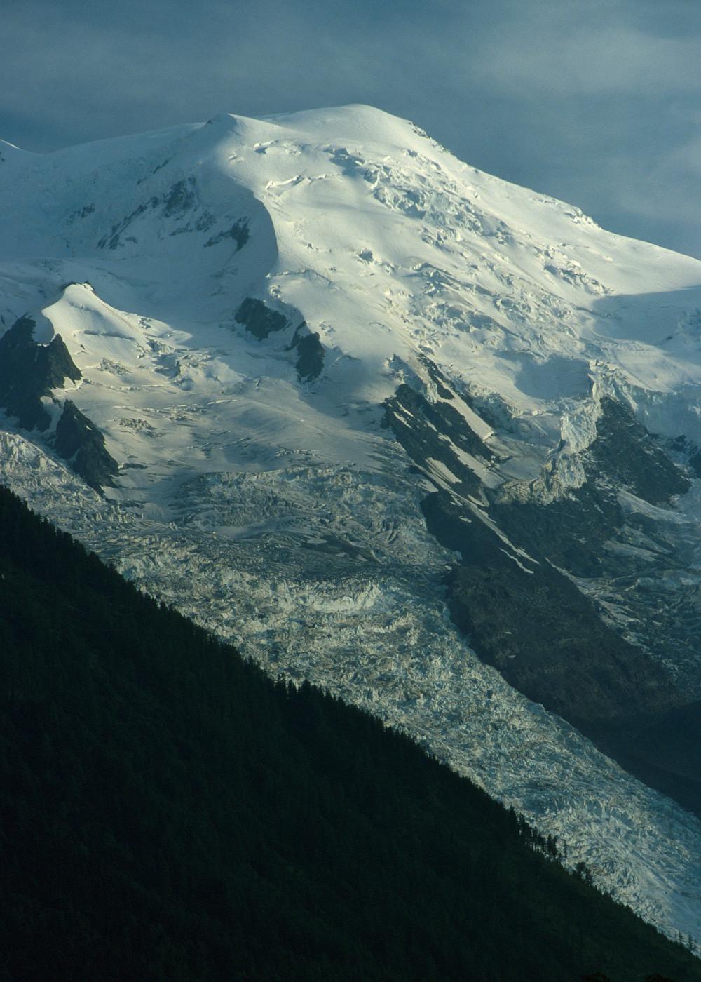 Dome du Goûter, glacier des Bossons