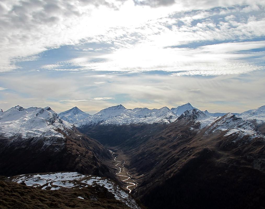 la Val Madrisa dalla Grimsla.