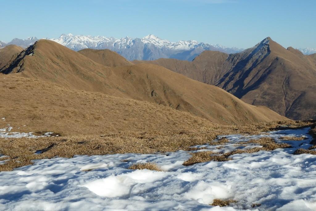 Monte Lungo, Vetta del Vallone e Disgrazia