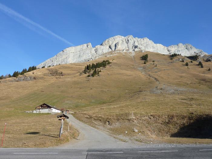 Il faut viser au mieux dans les alpages le collu vers le centre