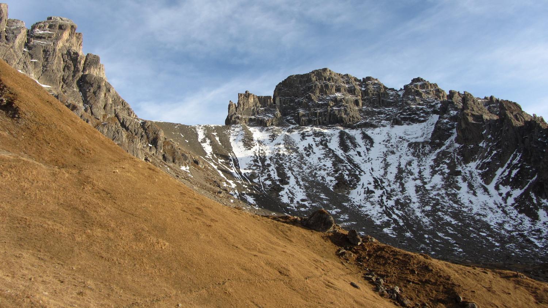 versant W de la Brèche de Parozan