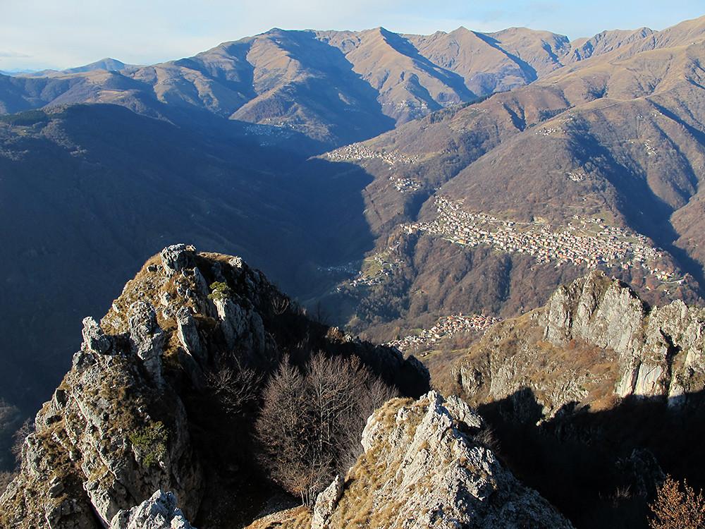 dal Monte Pidaggia; la Val Cavargna