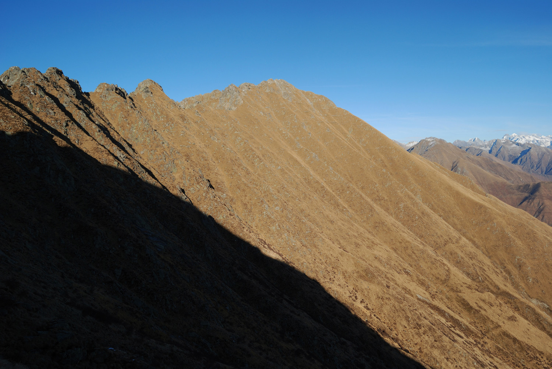 Il versante meridionale del Monte Torresella 2245 m