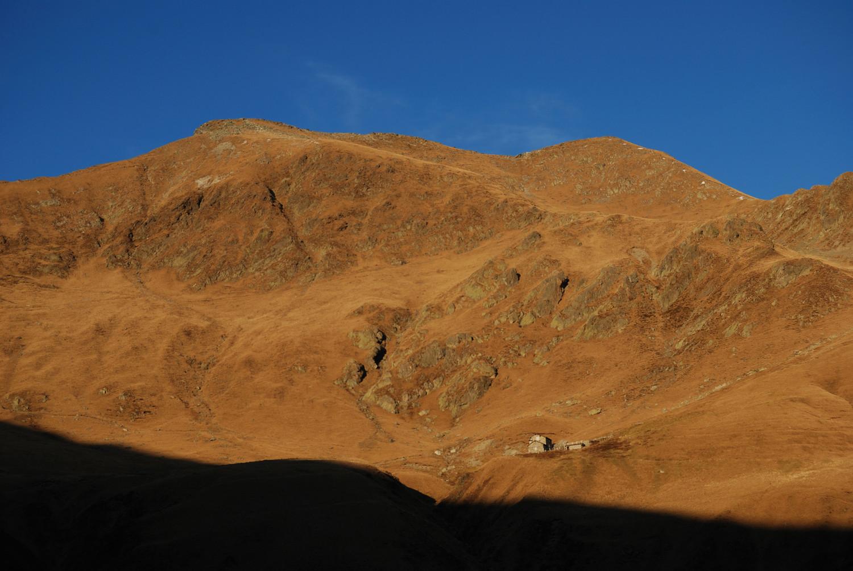 Il versante S del Monte Marmontana 2316 m