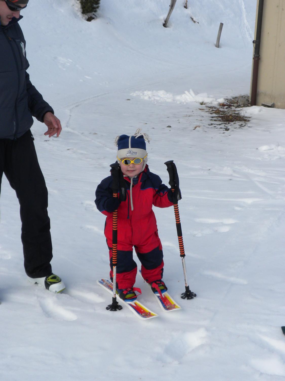 Moi aussi je skie!