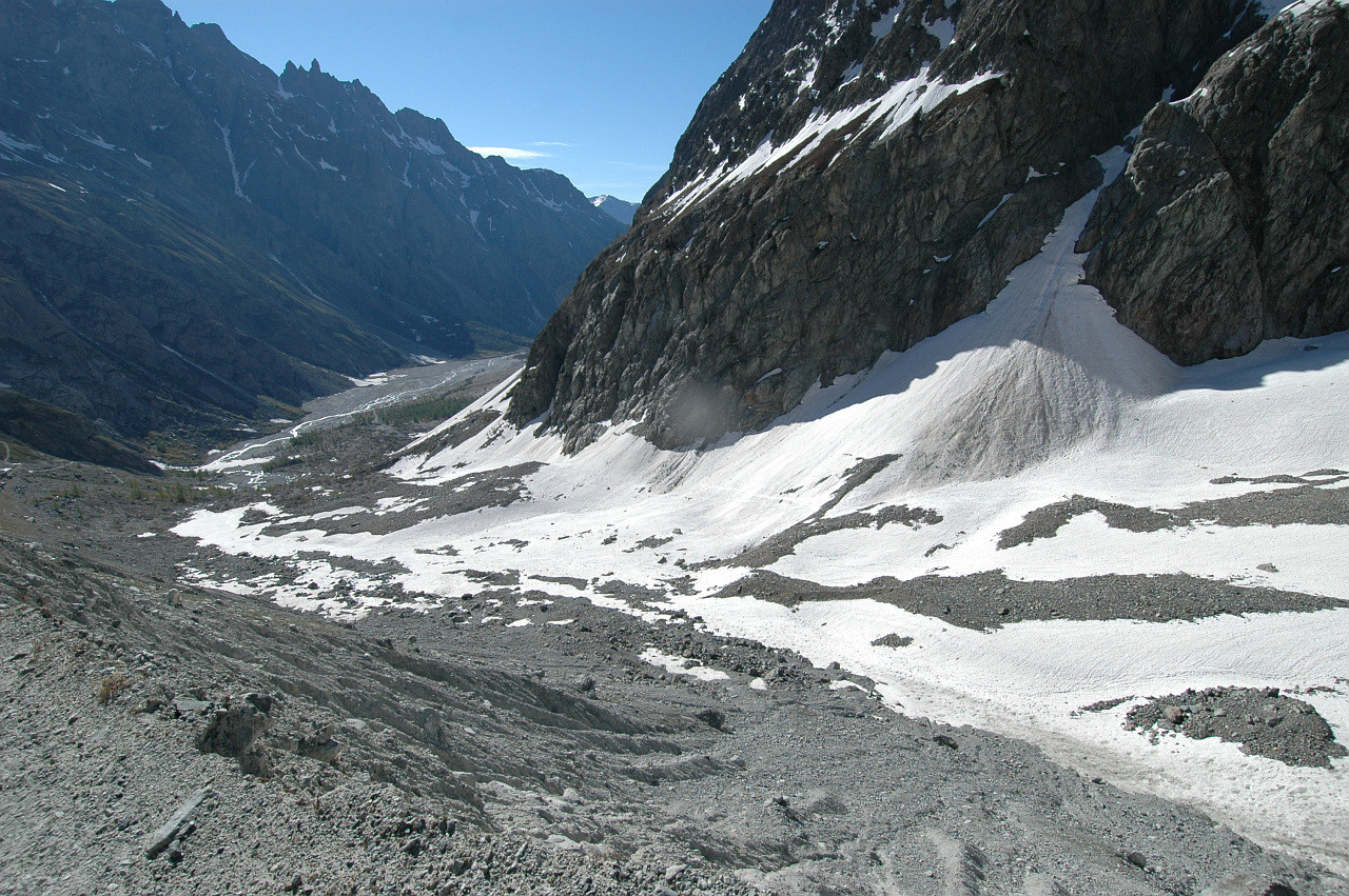 Glacier Noir, Pré de Madame Carle
