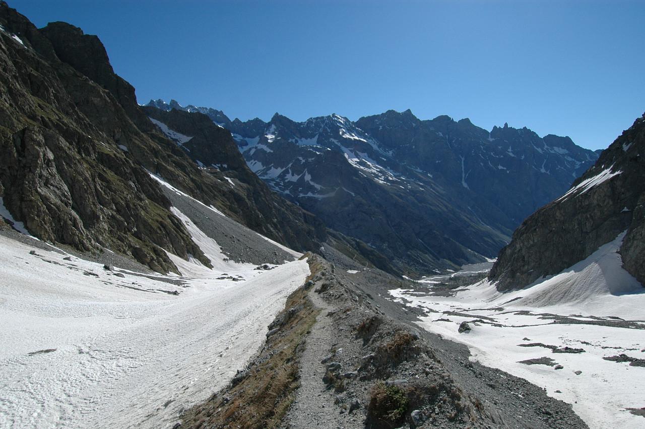 Moraine du Glacier Noir