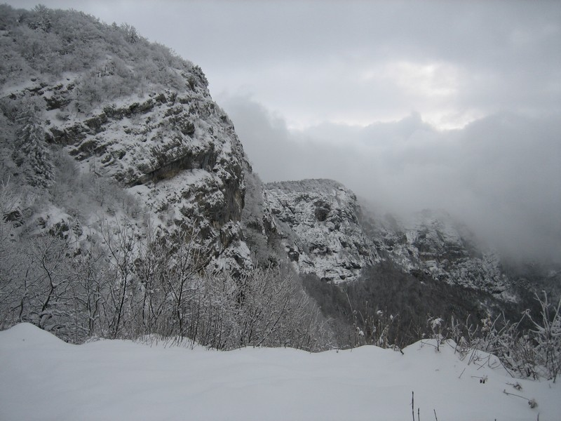 Au Col des Sauts, aperçu de la crête