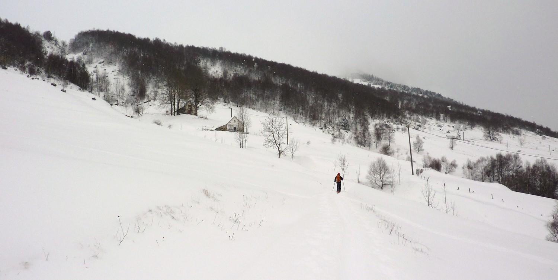 Quelque part dans la montée au Mount Agut