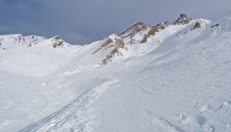 Vers le Col de l'Agnel.