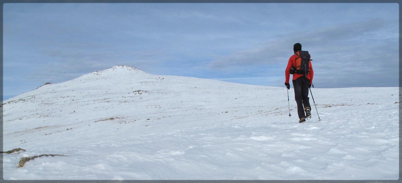 Sur l'altiplano du Campcardos, en marche vers le sommet
