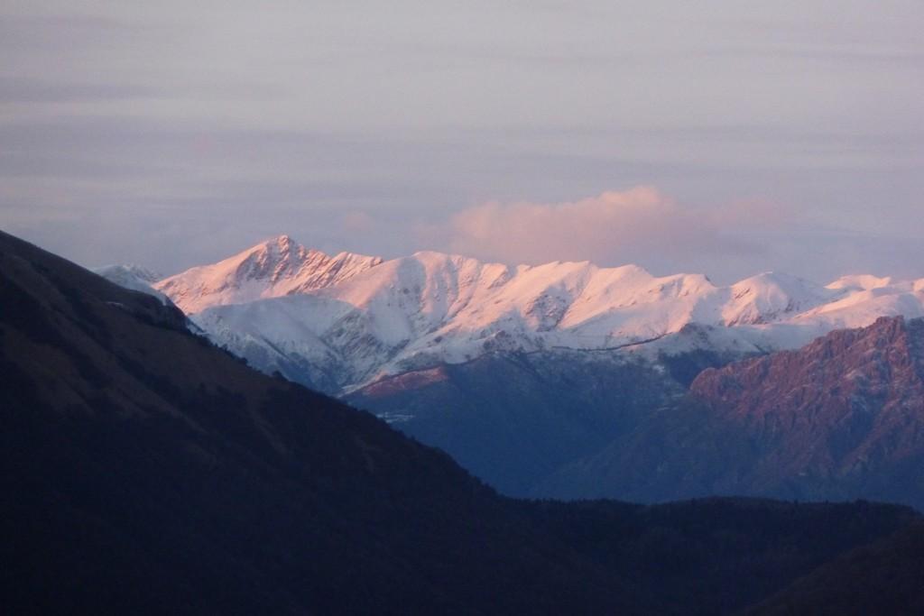 Pizzo di Gino e Pianchette ancora poca Neve per lo SKIALP