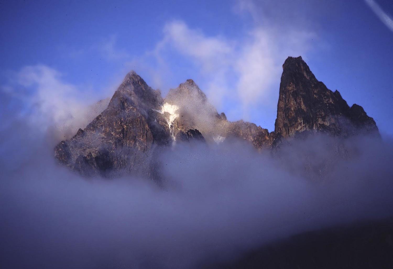 Batian, Nelion, Point John (Mont Kenya)