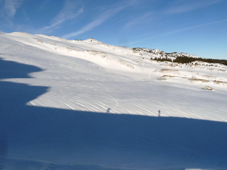 Le ski de rando, c'est beau. Surtout en plein hiver -même si on a tendance à se croiree en avril! - avec ces ombres qui grandissent très vite