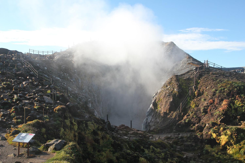 Le grand cratère