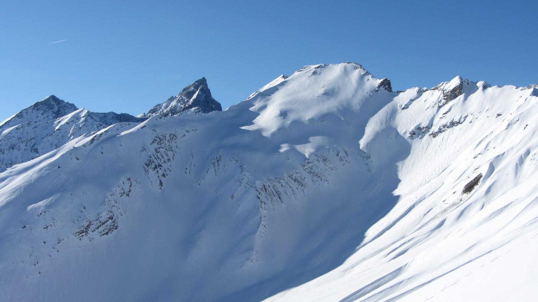 versant NE de la Roche du Bonhomme