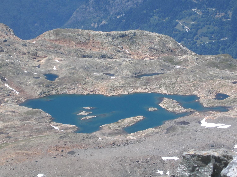le lac du milieu, du pic