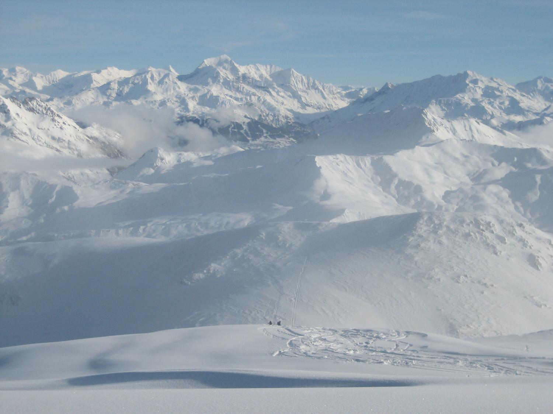 Mont Pourri vu du Grand Mont