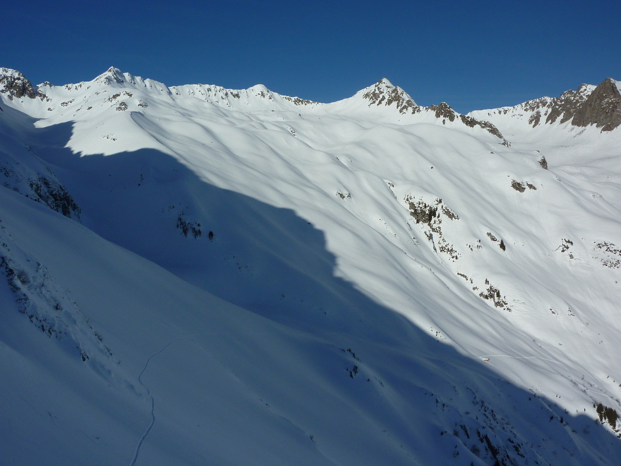 Montagne d'argentine, Pointe de Freydon et Grande Muraille