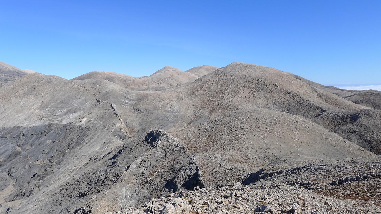 Panorama depuis le sommet du Skotino