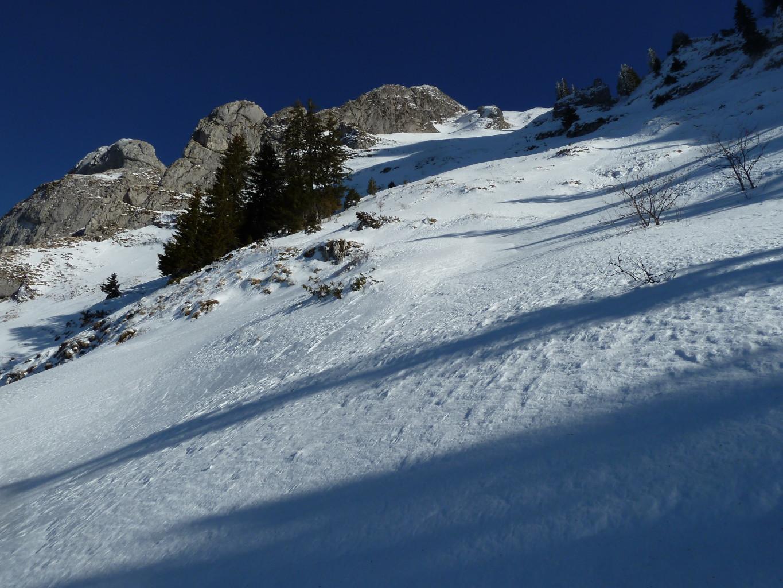 Col sans nom entre le Billiat et la montagne du Pleney (ou Tré-la-Dona)