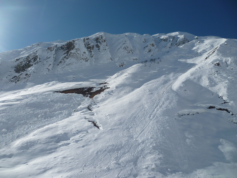 Tout n'a pas purgé en versant S du Mont Rosset