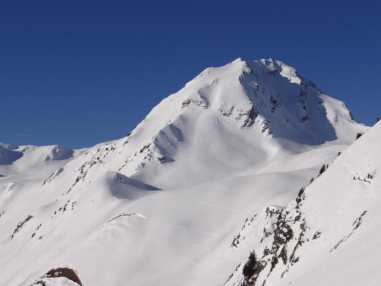 Le mont Mirantin une belle trace de montée face SE bien agréable
