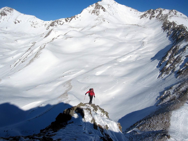 salita al Monte Alto