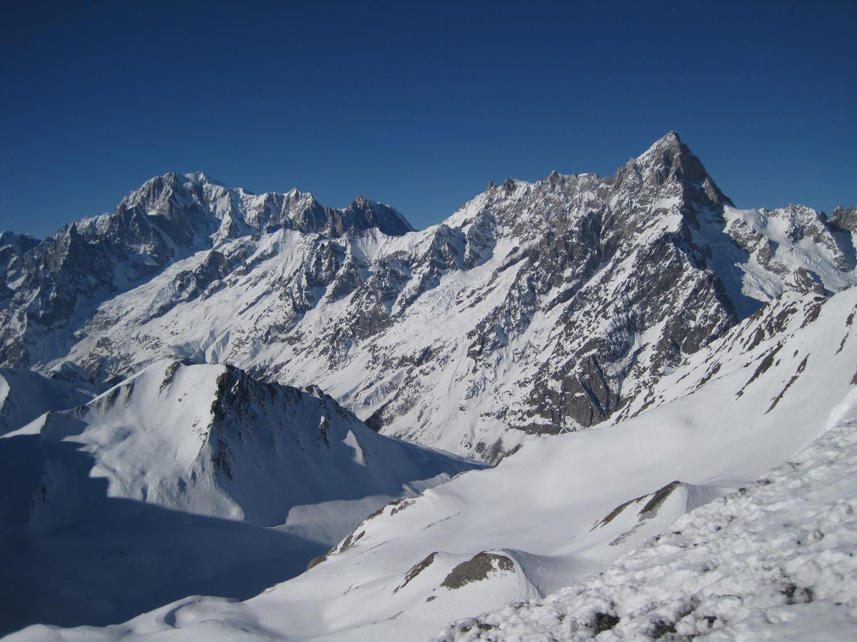 Vista dalla cima verso la Val Ferret
