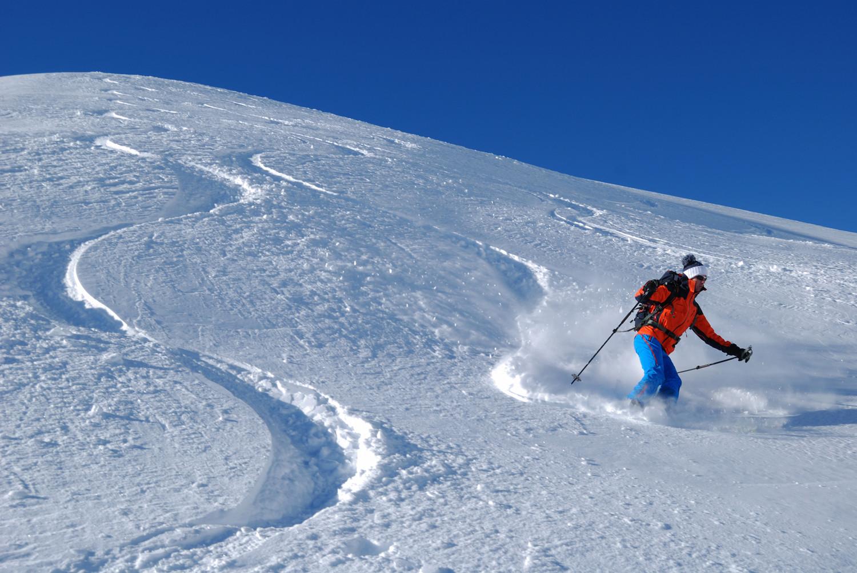 Scendendo dal Schollenhorn ad E della quota 2440 m