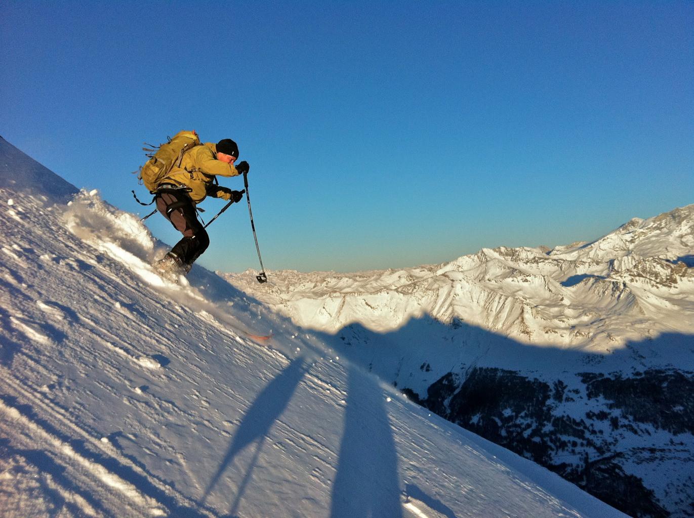 Face ESE Mont de l'Etoile, janvier 2012