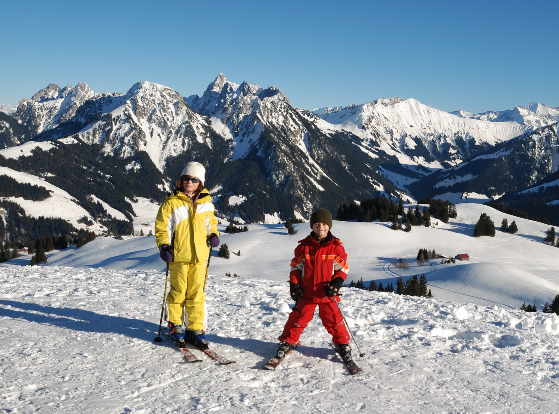 Un sommet à ski...le 1er d'une longue série