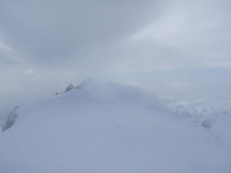 au sommet vue le signalkuppe