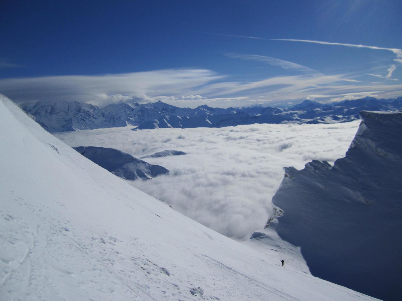 gros bonnet sur le Mt Blanc