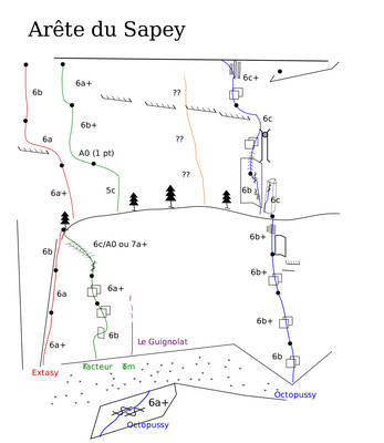 Arête du Sapey