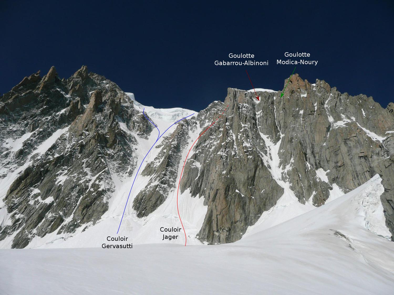 Face Est du Mont Blanc du Tacul